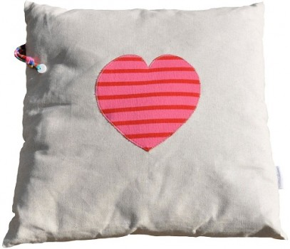 Coussin coeur Made in mariniere BD