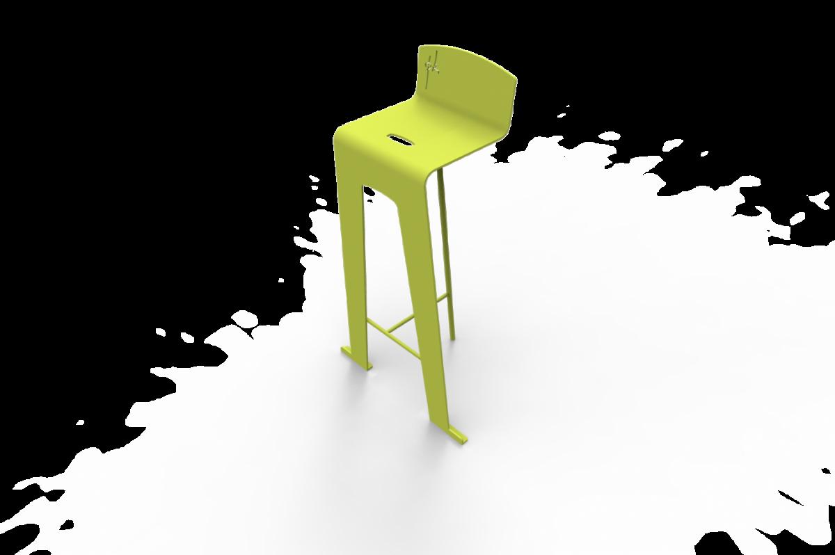 Chaise Pk Métal Design (3)