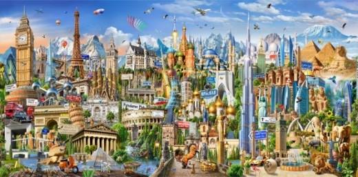 EDUCA 42000 piezas -puzzle-