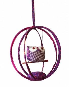Cage à Chouette Violette détourée