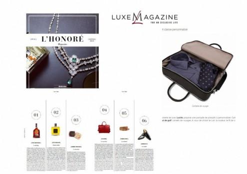 Luxe magazine M