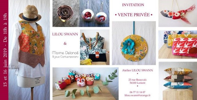 INVITATION vente privée Lilou Swann