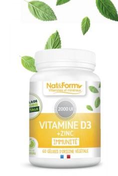 Vitamine D3 + Zinc