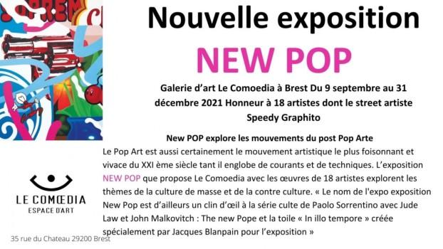 EXPO NEW POP Dès le 9 septembre